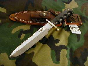 "RANDALL KNIFE KNIVES #14-7 1/2"",SS,ST,BDH,BLACK MICARTA,FG,WT  #A3759"