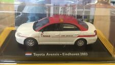 "DIE CAST "" TOYOTA AVENSIS - EINDHOVEN 2003 "" 1/43 TAXI COLLECTION 1/43"