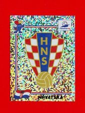 WC FRANCE '98 Panini 1998 - Figurina-Sticker n. 535 - HRVATSKA - BADGE -New