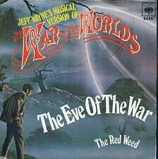 7inch JEFF WAYNE the eve of the war HOLLAND EX +PS1 978