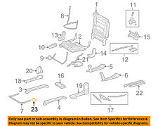 TOYOTA OEM 08-16 Sequoia Second Row Back Rear Seat-Track End Cap 721590C060C0