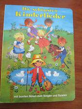 (E370) PAPP-KINDERBUCH DIE SCHÖNSTEN KINDERLIEDER G.GOTTSCHLICH PESTALOZZI 2004