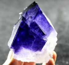 Tanzanite-like' NEW FIND Glassy Clear Transparent Purple Fluorite China CM760637