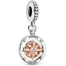 Pandora Club 2020 Compass Dangle Charm Gold 788590C01 Limited Edition NEW! NR!