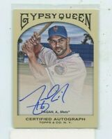 ANGEL PAGAN 2011 Topps Gypsy Queen Auto Autograph #GQA-AP New York Mets