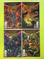 Battleworld: Zombies #1-4 Secret Wars  Marvel NM 9.4