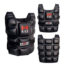 12 KG WEIGHTED VESTS WEIGHT CROSSFIT TRAINING MMA GYM SPORT RUNNING EXERCISE NEW