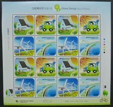 Corée Sud 2009 écologiques Production d'énergie éolienne 2724-27 Klein Arc Neuf sans charnière