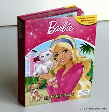 BARBIE MY BUSY BOOKS 12 FIGURES + PLAY MAT KIDS BOOKS CHILDRENS STORY