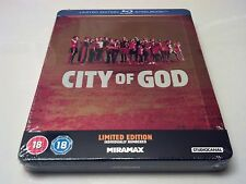 City of God Embossed STEELBOOK (Blu-ray, UK) Individually Numbered 4,000 Made!