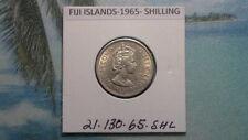 FIJI ISLANDS - 1965 SHILLING - COLONIAL ERA - PREDECIMAL COIN. Copper/Nickel.