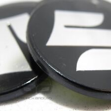 50mm SUZUKI ALLOY WHEEL CENTRE CAP BADGES CAPS 50 mm 5CM BLACK CHROME LOGO
