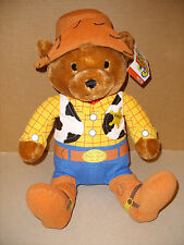 DISNEY PIXAR TOYS R US TOY STORY 3 PLUSH SHERIFF BEAR WITH TAGS HTF EXCELLENT