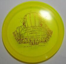 175g Innova Teebird Champion Disc Golf Fiarway Driver Ice Bowl 2014 Yellow