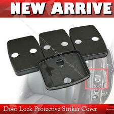 Unpainted E90 3-Series BMW 4DR Sedan Side Door Lock Striker Cover 4PCS §