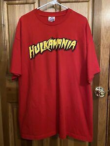 Vintage 2000s Hulkamania Is Still Runnin' Wild Wrestling Tee - Size 2XL