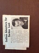 J1f Ephemera 1960s Article Gordon Luck Rediffusion Endless Adventure
