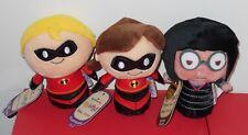 Hallmark Itty Bittys Mr. Incredible, Elastigirl & Edna Mode The Incredibles New