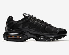Nike Air Max Plus Triple Black Casual Shoes (Men's Sizes 8-13) | 604133 050