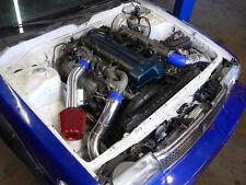 CXRacing Stock Turbo Intake Piping Filter Kit For 88–92 Cressida 2JZ-GTE MX83