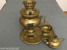 GARANTI SEMAVERLERI SAMOWAR ÄLTER / ANTIK ? old antique brass samovar Türkei ?