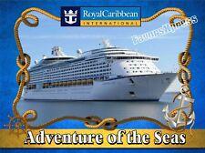 Royal Caribbean Adventure Of The Seas Cruise Ship Photo Magnet thin~flexilble