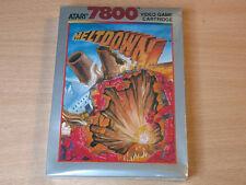 Atari 7800 - Meltdown by Atari - MINT - New - Sealed