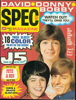 SPEC Magazine January 1972 Bobby Sherman Jackson Five Osmonds Cassidy MBX92