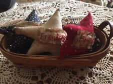 Primitive Patriotic Star Ornies