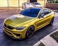 BMW F80 F82 F83 F8x M4 M3 Carbon Fibre V Style Front Lip Diffuser splitter 14-17