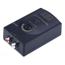 Car Audio RCA Speaker Level Line Output Converter High To Low Adapter+harness