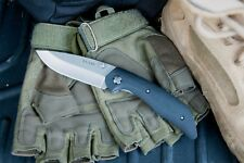 KA-BAR 7505 Jarosz Straight Edge Folding Pocket Knife with Clip