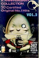 Various Artists ..50 Certified Original No 1 Hits. Vol 3.. Import Cassette Tape