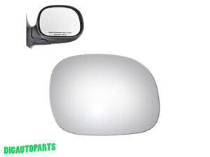 Mirror Glass for Ford F-150 F-250 F-350 Expedition Right Passenger Right Side RH