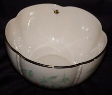 "New LENOX Morningside Cottage Treat Candy Bowl 6-1/2"" x 3-1/2"" Flowers Butterfly"