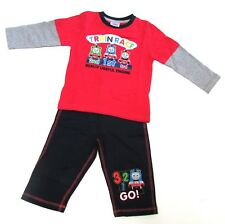 THOMAS TANK Baby Boy JOG SUIT Long Sleeve Top Jogging Bottoms Set | 9-12 Months