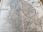 ANTIQUE MAP LINCOLNSHIRE BY ROBERT MORDEN PUBL. CAMDEN'S BRITANNICA 1695-1722
