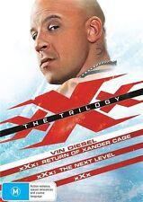 XXX / XXX - The Next Level / XXX - Return Of Xander Cage (DVD, 2017, 3-Disc Set)