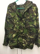 army surplus/ Military Genuine DPM Combat Windproof Smock. With Wired Hood