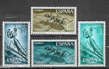 SAHARA  Edifil # 242/245 ** MNH Set / Insectos / Insects / Mantis