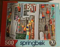 SPRINGBOK 500 piece Jigsaw Puzzle: OH BUOY! Complete Puzzle/All Pieces