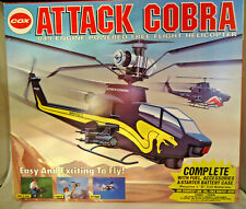 UNOPENED BOX! VINTAGE 1993 COX ATTACK COBRA .049 ENGINE FREE FLIGHT HELICOPTER