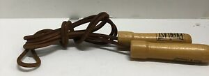 Everlast Leather Weighted Jump Rope Vintage Since 1910 Choice Of Champions
