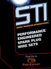 Fits 1984-1985 Honda Civic CRX VTEC Offset Coil STI 259 Spark Plug Wire Set