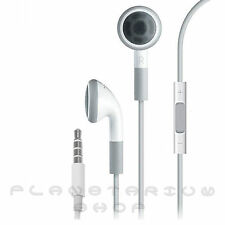 GENUINE APPLE iPHONE 4 4S 5 3GS iPAD 2 3 AIR iPOD HANDSFREE EARPHONES HEADPHONE