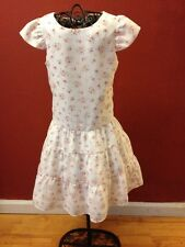 Laura Ashley Boutique Girls sz. 6 Tiered Floral Special Occasion Dress