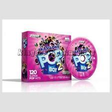 Latest 2013 Karaoke Zoom Pop Box Set Vol 2 - 120 Chart Hits on 6 CDG/CD+G Discs