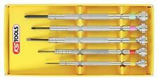 KS Tools précision Lot de tournevis 5 pièces Visser croix fente 500.7235