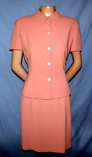 Joneswear Skirt Suit Size 8/10 Career or Social Beautiful Mauve