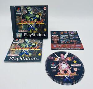 PS1 Playstation 1 - Soulblade Spiel mit OVP & Anleitung - USK 18 !
